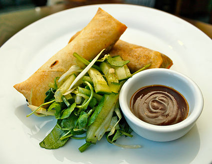 Duck Spring Rolls with the Recipe